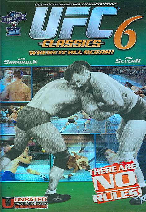UFC CLASSICS 6 BY GRACIE,ROYCE (DVD)